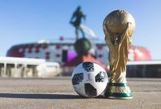 Trofeo del mundial de la FIFA fotografía de archivo libre de regalías