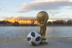Trofeo del mundial de la FIFA fotos de archivo