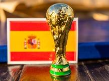 Trofeo del mundial de la FIFA fotografía de archivo