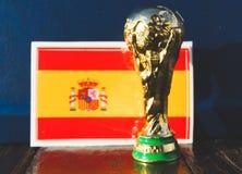 Trofeo del mundial de la FIFA imágenes de archivo libres de regalías