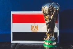 Trofeo del mundial de la FIFA imagen de archivo