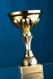 Trofeo del oro Imagen de archivo