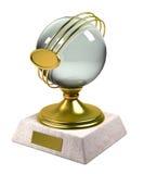 trofeo del oro 3d Fotos de archivo libres de regalías