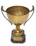 Trofeo del oro fotografía de archivo libre de regalías