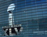 Trofeo del Super Bowl del estadio de los vaqueros Fotos de archivo libres de regalías