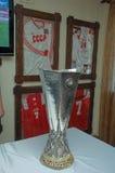 Trofeo della Coppa UEFA Immagini Stock Libere da Diritti