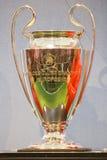 Trofeo della tazza di Champions League dell'UEFA Fotografie Stock Libere da Diritti