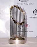 Trofeo di campionato di baseball Immagine Stock Libera da Diritti