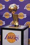 Trofeo di finali di NBA immagine stock