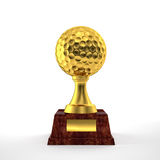 Trofeo di golf Immagini Stock Libere da Diritti