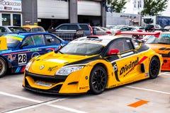 Trofeo di Renault Megane Immagini Stock