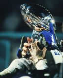 Trofeo di Super Bowl Fotografie Stock