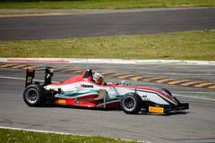 Trofeo italiano Dallara de la fórmula F2 que compite con en Monza Foto de archivo