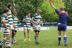 Trofeo minore di rugby del mondo di IRB Fotografie Stock