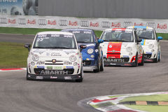 Trofeo Nazionale Abarth Italia & Europa Royalty Free Stock Photography