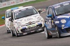 Trofeo Nazionale Abarth Italien u. Europa Lizenzfreie Stockfotografie