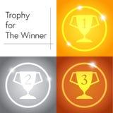 Trofeo per il vincitore Immagini Stock Libere da Diritti