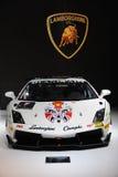 Trofeo super do gallardo de Lamborghini Fotografia de Stock