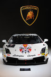 Trofeo superbe de gallardo de Lamborghini Photographie stock