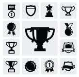 Trofeo y concesiones Foto de archivo libre de regalías