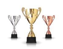 Trofeos Imagen de archivo libre de regalías