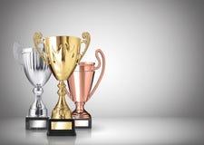 Trofeos Fotografía de archivo libre de regalías
