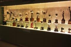 Trofeos de Real Madrid Fotografía de archivo libre de regalías