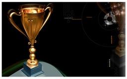 trofeum Obrazy Royalty Free