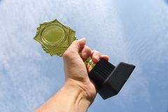 trofeum Obraz Royalty Free
