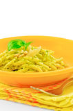 Trofie al Pesto Stock Images