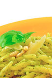 Trofie al Pesto Royalty Free Stock Photo