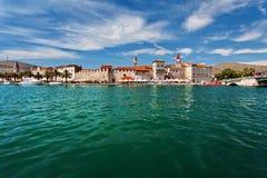 Trogir, Κροατία, παλαιά πόλη Στοκ φωτογραφίες με δικαίωμα ελεύθερης χρήσης