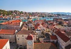trogir городка Хорватии Стоковые Изображения RF