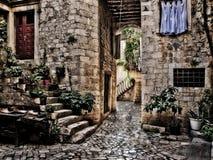 trogir Хорватии Стоковое Изображение RF