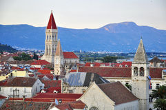 Trogir from above Royalty Free Stock Images