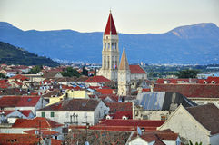 Trogir from above Royalty Free Stock Image
