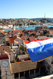 Trogir, aerial view Stock Photo
