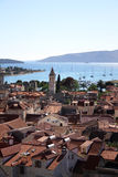 Trogir, aerial view. Royalty Free Stock Photos