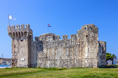 Trogir ancient fortress historical building, Croatia Royalty Free Stock Photography