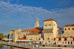 Trogir ancient stone architecture view Royalty Free Stock Photos