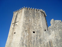Trogir castle in Croatia Stock Image
