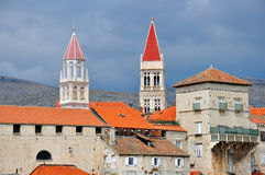 Trogir city center Royalty Free Stock Photography