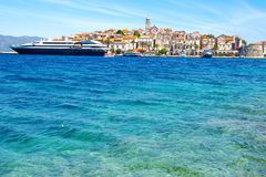 Trogir city, Croatia Stock Photography