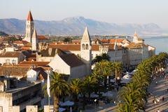 Trogir cityscape in Croatia Royalty Free Stock Image