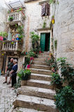 Trogir, a Corner Royalty Free Stock Images