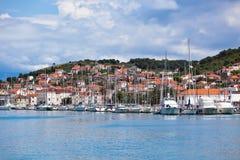 Trogir, Croatia Marina view Stock Photography