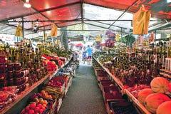 Trogir, Croatia - open air market Stock Photos
