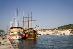Trogir - Croatia - Unesco monument Royalty Free Stock Photos
