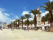 Trogir, Croatie Photo stock