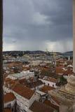 Trogir-Dächer Lizenzfreie Stockfotografie